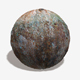 Painted Rusty Metal Seamless Texture - 3DOcean Item for Sale