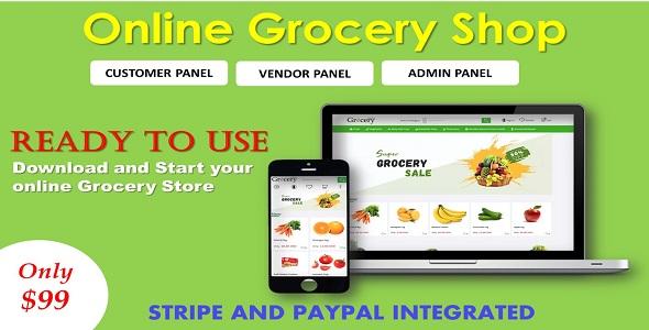 Online Grocery Shop in ASP.NET