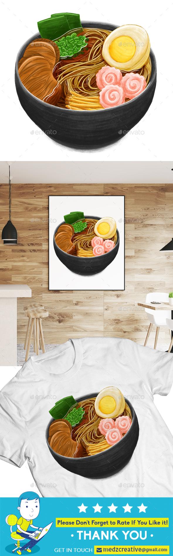 Ramen Noodle — Japanese Food