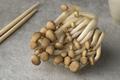 Fresh brow shimeji mushrooms close up - PhotoDune Item for Sale