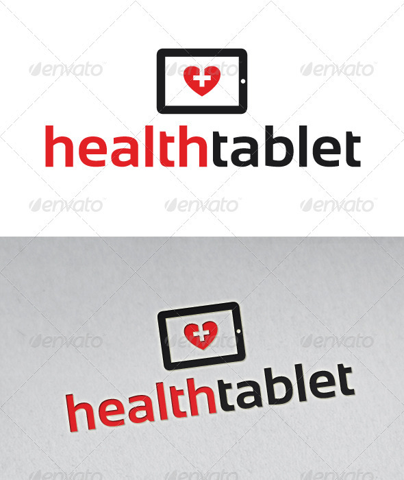Health Tablet Logo
