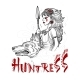 Hunting Goddess Girl with Spear and Wolf - GraphicRiver Item for Sale