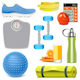 Vector Fitness Accessories - GraphicRiver Item for Sale