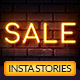 Neon Sale Instagram Stories - GraphicRiver Item for Sale