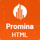 Promina - Construction and Building HTML5 Template - ThemeForest Item for Sale