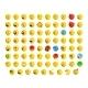 Left-Oriented Isometric Emojis Emoticons - GraphicRiver Item for Sale