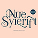Nue Syierift - Playful Serif Font - GraphicRiver Item for Sale