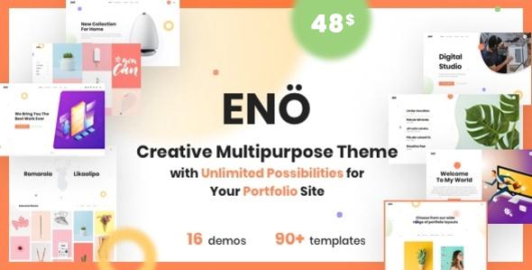 Eno - Portfolio Agency WordPress