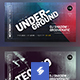 Electronic Music Party 28 - Facebook Event Cover Templates - GraphicRiver Item for Sale
