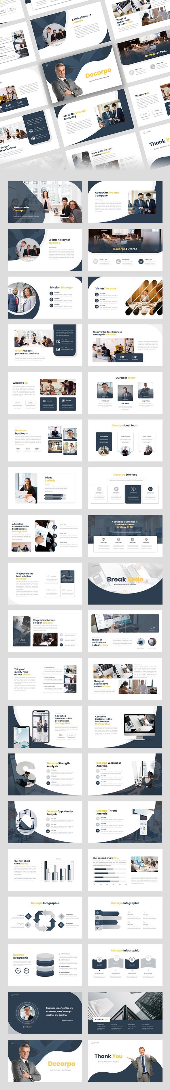 Decorpo - Business Presentation Template