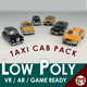 Low Poly Taxi Pack 01 - 3DOcean Item for Sale