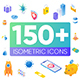Isometric Animated Icons - VideoHive Item for Sale