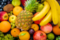 Organic food background. different fruits - PhotoDune Item for Sale