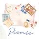 Picnic Time - Watercolor Illustration Set - GraphicRiver Item for Sale