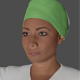 Nurse Woman low poly Ready for games 3D Model - 3DOcean Item for Sale