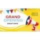Grand Opening Banner Template Advertising Design - GraphicRiver Item for Sale