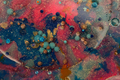 Abstract blot bubble background. Marble texture. Acrylic color in water and oil. - PhotoDune Item for Sale