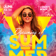 Summer Flyer Party - GraphicRiver Item for Sale