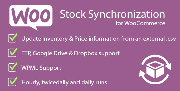 Stock Synchronization for WooCommerce Download