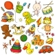 Toys Doodles - GraphicRiver Item for Sale
