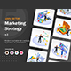 Set of Isometric Marketing Strategy V1 - GraphicRiver Item for Sale