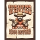 Wanted Bearded Cowboy with Guns Vintage Poster - GraphicRiver Item for Sale