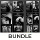 Black and White Instagram Post & Stories Bundle - GraphicRiver Item for Sale