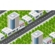 Seamless Urban Plan Pattern Map. Isometric - GraphicRiver Item for Sale