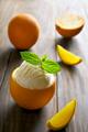 Orange ice cream - PhotoDune Item for Sale