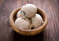 Scoops of ice cream in bowl - PhotoDune Item for Sale