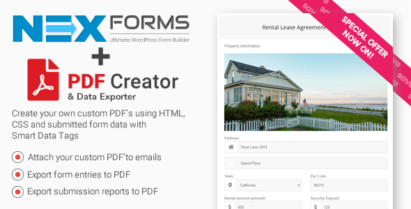 PDF Creator for NEX-Forms Download