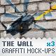Wall - 3 Graffiti Street Art Mockups - GraphicRiver Item for Sale