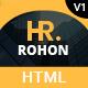 Rohon - Personal Portfolio HTML5 Template - ThemeForest Item for Sale