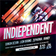 Indiependent Flyer - GraphicRiver Item for Sale