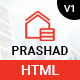 Prashad – Real Estate HTML Template - ThemeForest Item for Sale