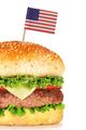 big hamburger isolated on white - PhotoDune Item for Sale