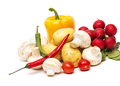 fresh vegetables on the white background - PhotoDune Item for Sale