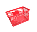 a red shopping basket isolated on white background - PhotoDune Item for Sale