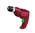 Red screwdriver drill isolated on a white - PhotoDune Item for Sale