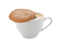 Cup of coffee and a cookie isolated - PhotoDune Item for Sale