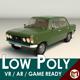 Low Poly Sedan Car 11 - 3DOcean Item for Sale