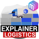 Explainer Video   Logistics Services. Delivery - VideoHive Item for Sale