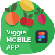 VeggieBasket | Mobile App and Landing Page Figma Template - ThemeForest Item for Sale