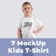 7 Kids T-Shirt Mockups - GraphicRiver Item for Sale