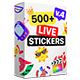 Essential Stickers Library | Final Cut - VideoHive Item for Sale