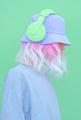 Urban Summer fresh Dj Girl. Monochrome Minimal design trends. Vanilla aesthetic colours - PhotoDune Item for Sale