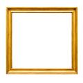 Square decorative golden picture frame - PhotoDune Item for Sale