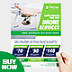 Drone Services Business Flyer - GraphicRiver Item for Sale