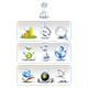 Internet Network 3D Vector - Icons - GraphicRiver Item for Sale