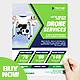 Drone Services Flyer Template - GraphicRiver Item for Sale